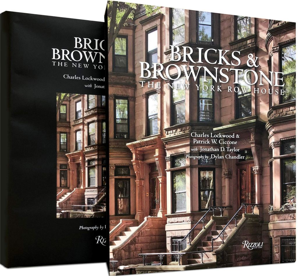 """Holiday gift idea for interior design enthusiasts who have a vintage inspired decor style: coffee table book """"Bricks & Brownstone: The New York Row House"""""""