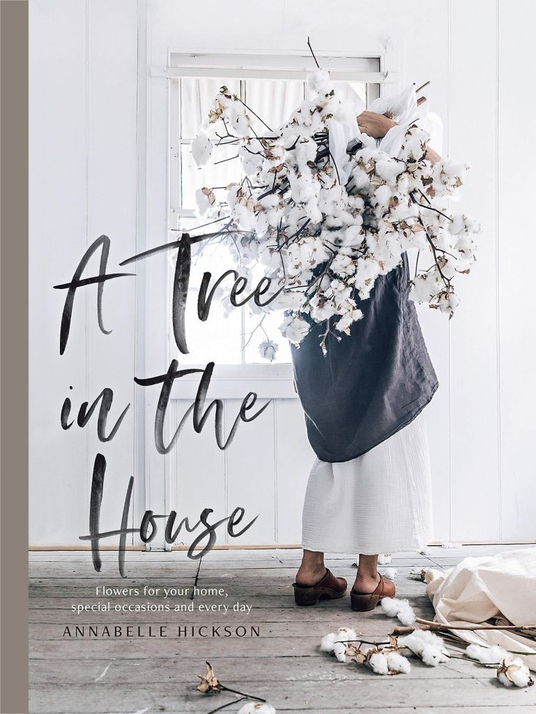 """Holiday gift idea for interior design enthusiasts who have a feminine aesthetic and love floral arrangements: coffee table book """"A Tree in the House: Flowers for your Home, Special Occasions, and Every Day"""""""