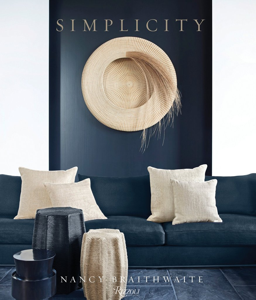 """Holiday gift idea for interior design enthusiasts who have a minimalist decor style: coffee table book """"Simplicity"""""""